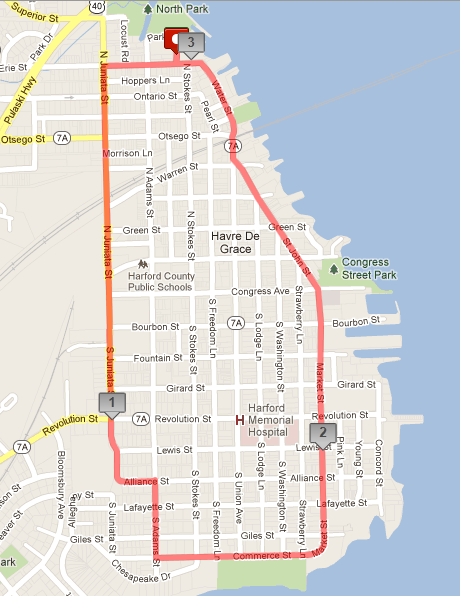 pirate5k map 2013